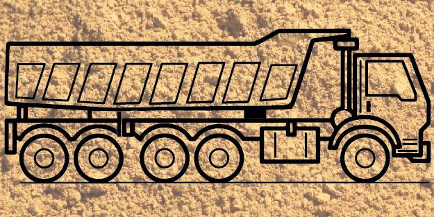 Доставка песка тонаром воскресенск