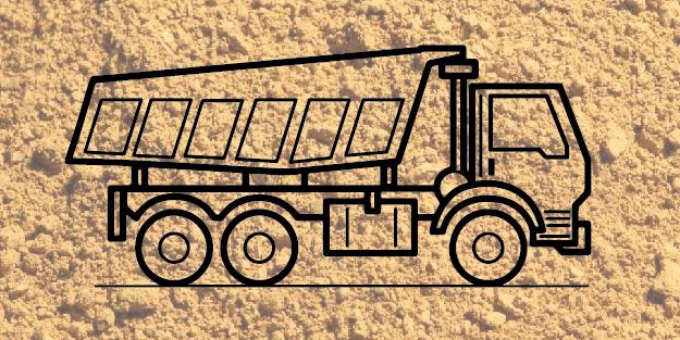 доставка песка по воскресенску 16 кубов